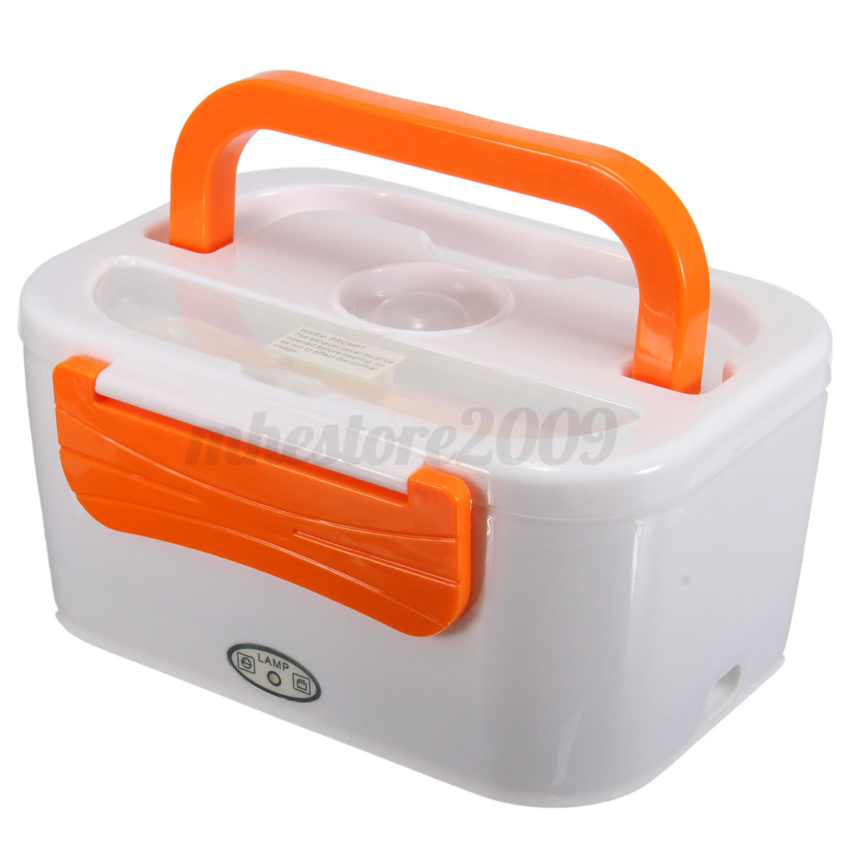electric portable heated compact food warmer lunch bento box 45w 220v ebay. Black Bedroom Furniture Sets. Home Design Ideas