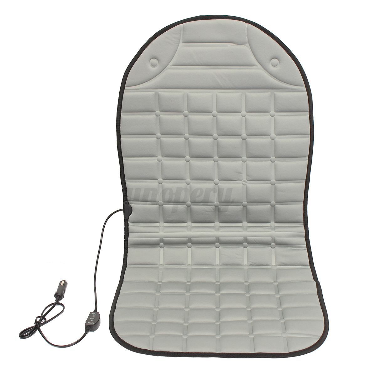 12v universal heated car seat heater heated cushion winter warmer cover pad new. Black Bedroom Furniture Sets. Home Design Ideas