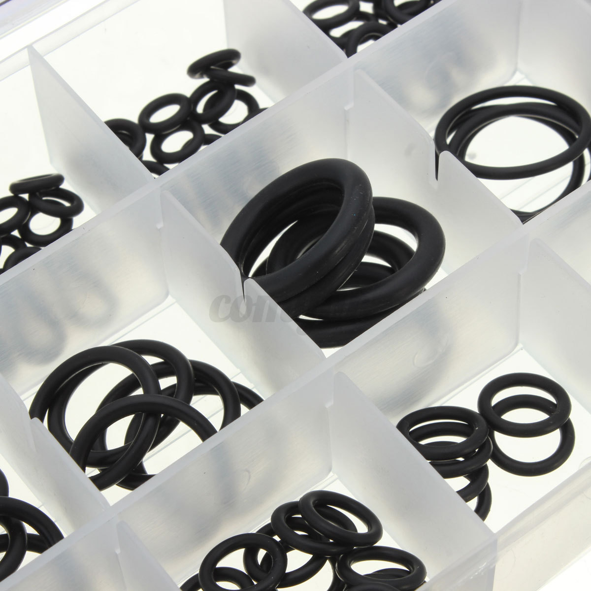 225tlg o ring assortment seal ring kit seal rubber rings. Black Bedroom Furniture Sets. Home Design Ideas