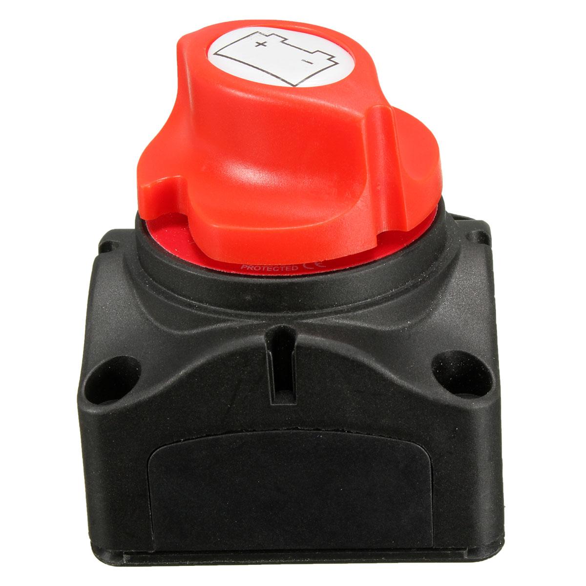 Marine Knob Battery Master Isolator Cut Off Power Kill Switch Control 12v 24v Us Ebay