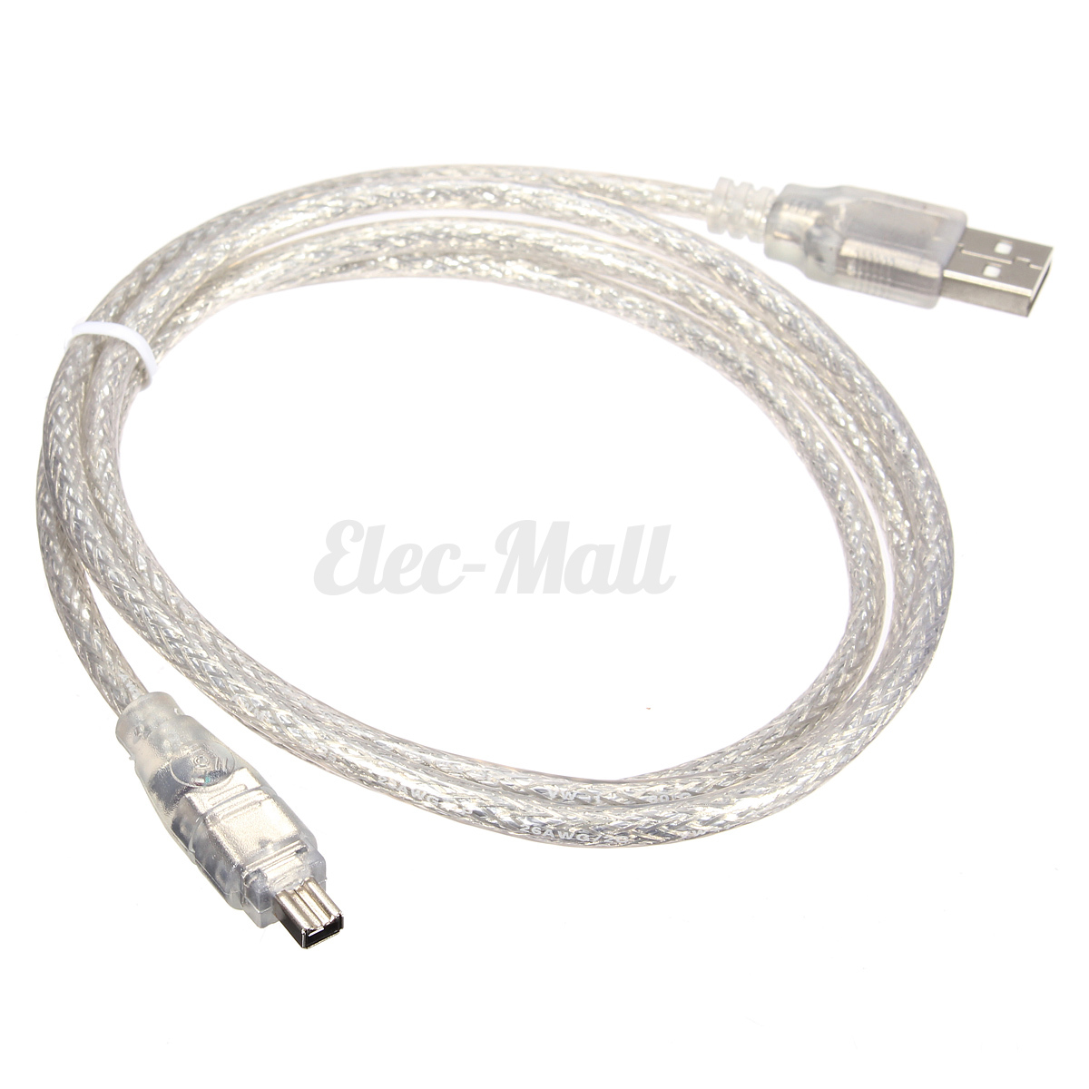 4ft USB 2.0 Male To Firewire iEEE 1394 4 Pin Male iLink Adapter Cable Cord HF