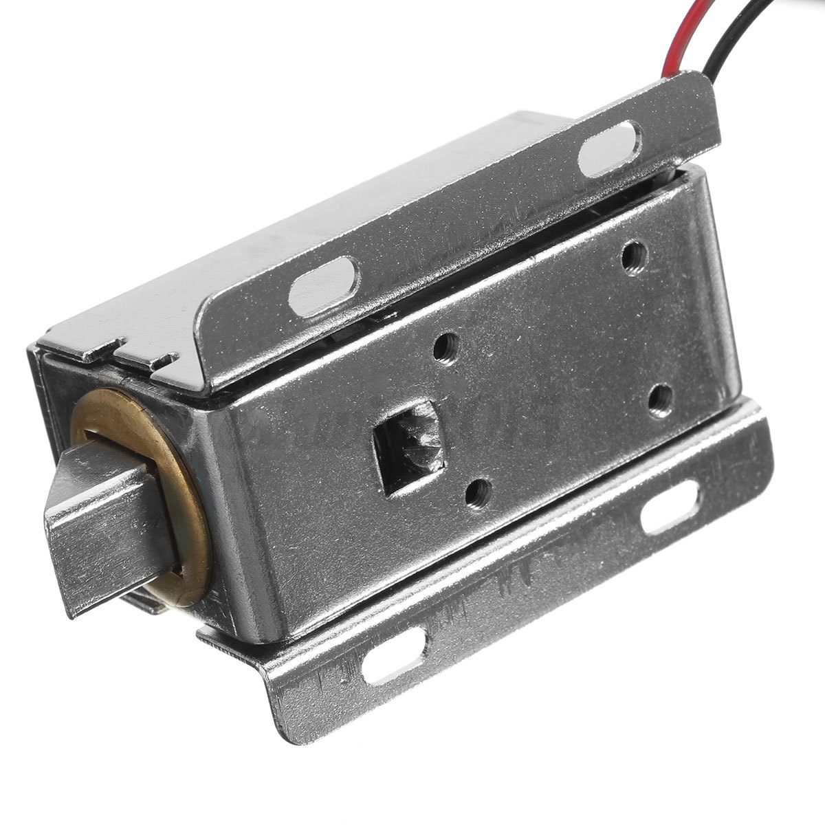Dc 12v safe cabinet door electric lock assembly latch for 12v door latch