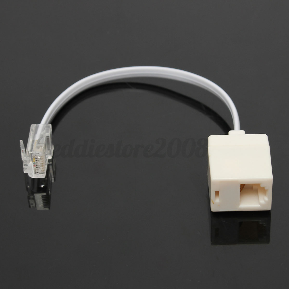 on q rj45 phone jack wiring diagram rj11 6p4c female to ethernet rj45 8p8c male f/m adapter ... rj45 phone wiring #10