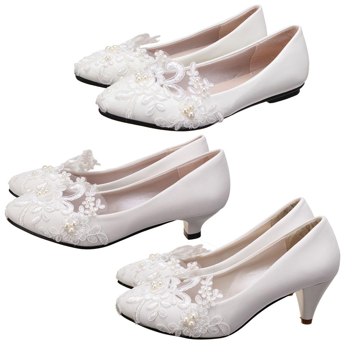 adc51b03a14843 Damen Brautschuhe Blumen Halbschuhe Flache Schuhe Bootsschuhe ...