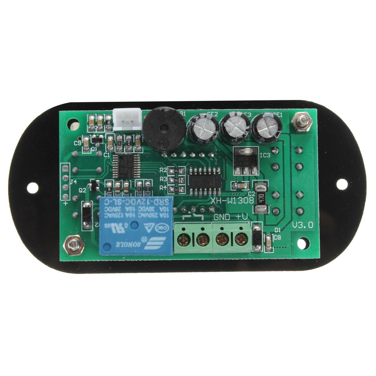 Heat Cool Digital Thermostat Temperature Controller Alarm Sensor Meter #28A378
