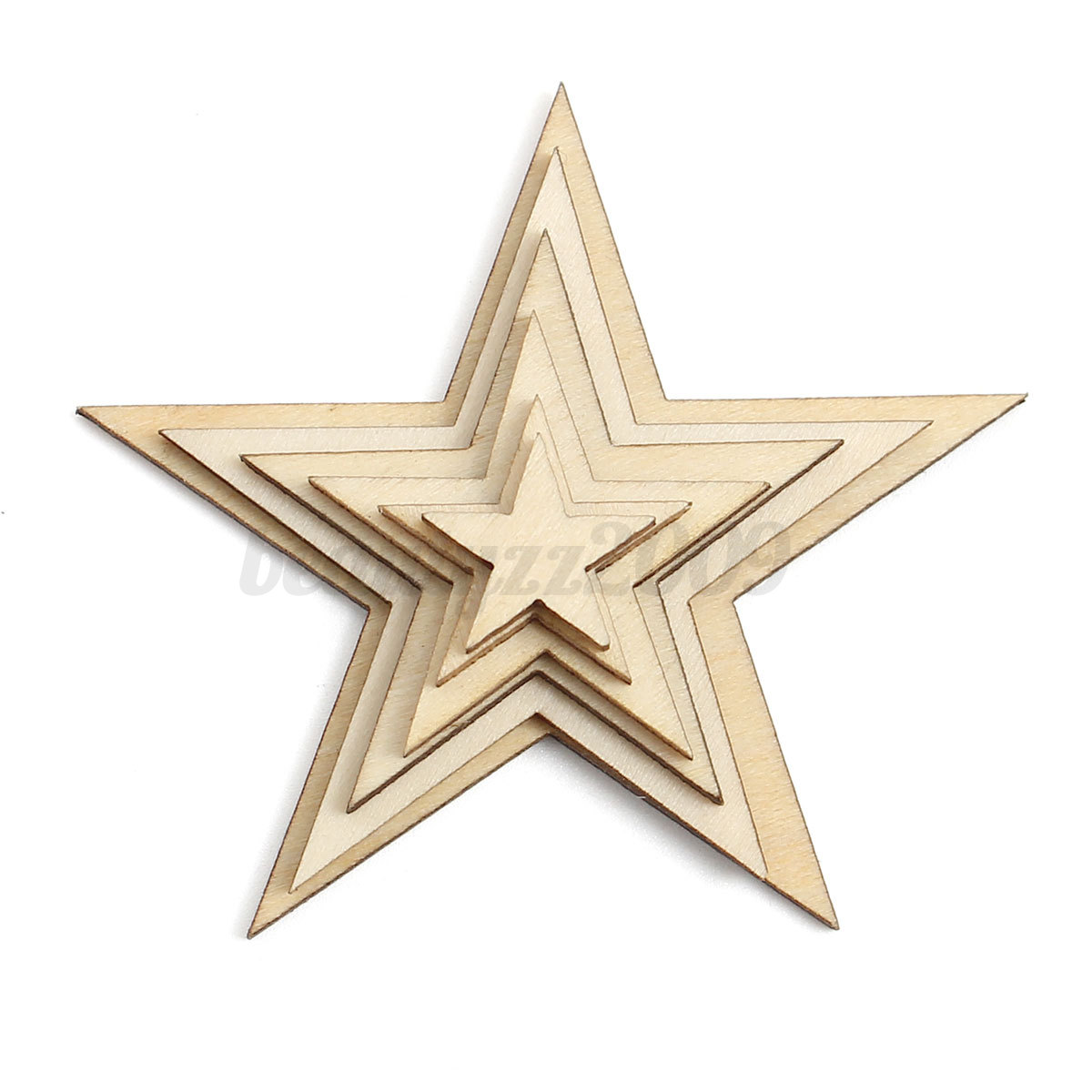 wooden stars for crafts wooden mdf embellishment decor scrapbooking 5785