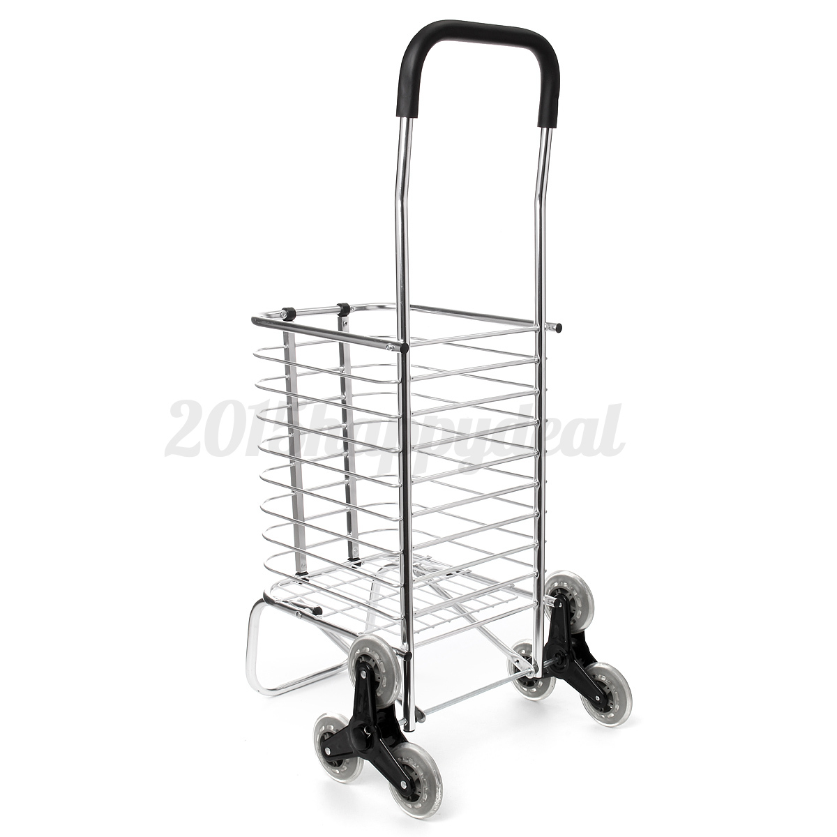 how to add wheels to folding shipping cart