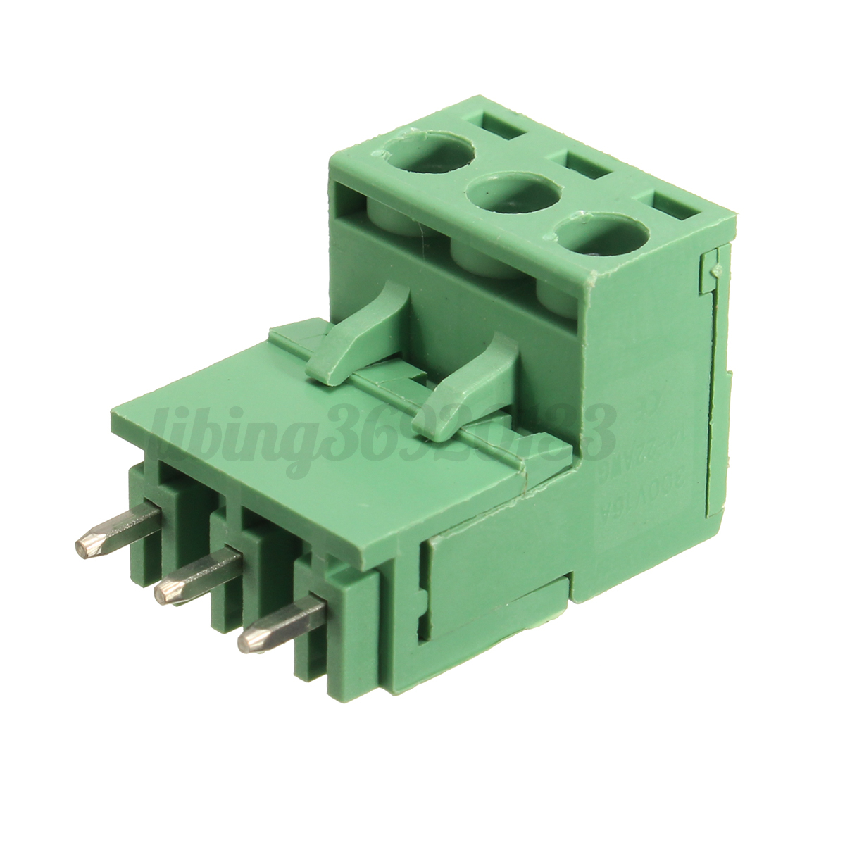 10Pcs-2EDG-5-08mm-Pitch-3Pin-Plug-in-Screw-Terminal-Block-Connector-Angulo-Recto