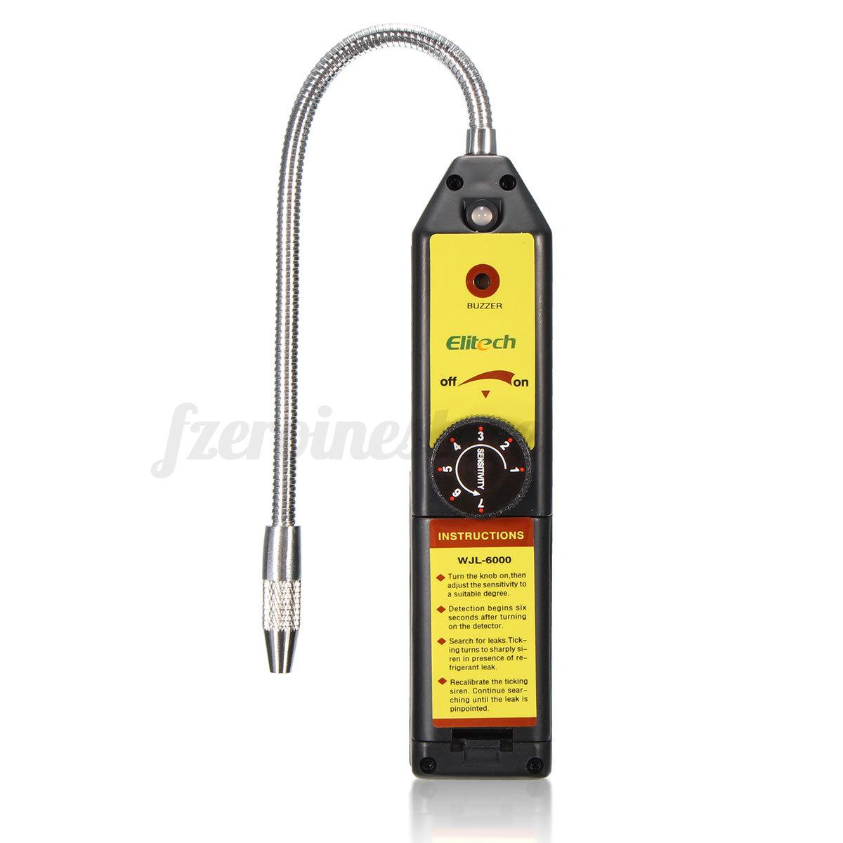 Cfc Hfc Halogen Gas Refrigerant Leak Detector Checker R22