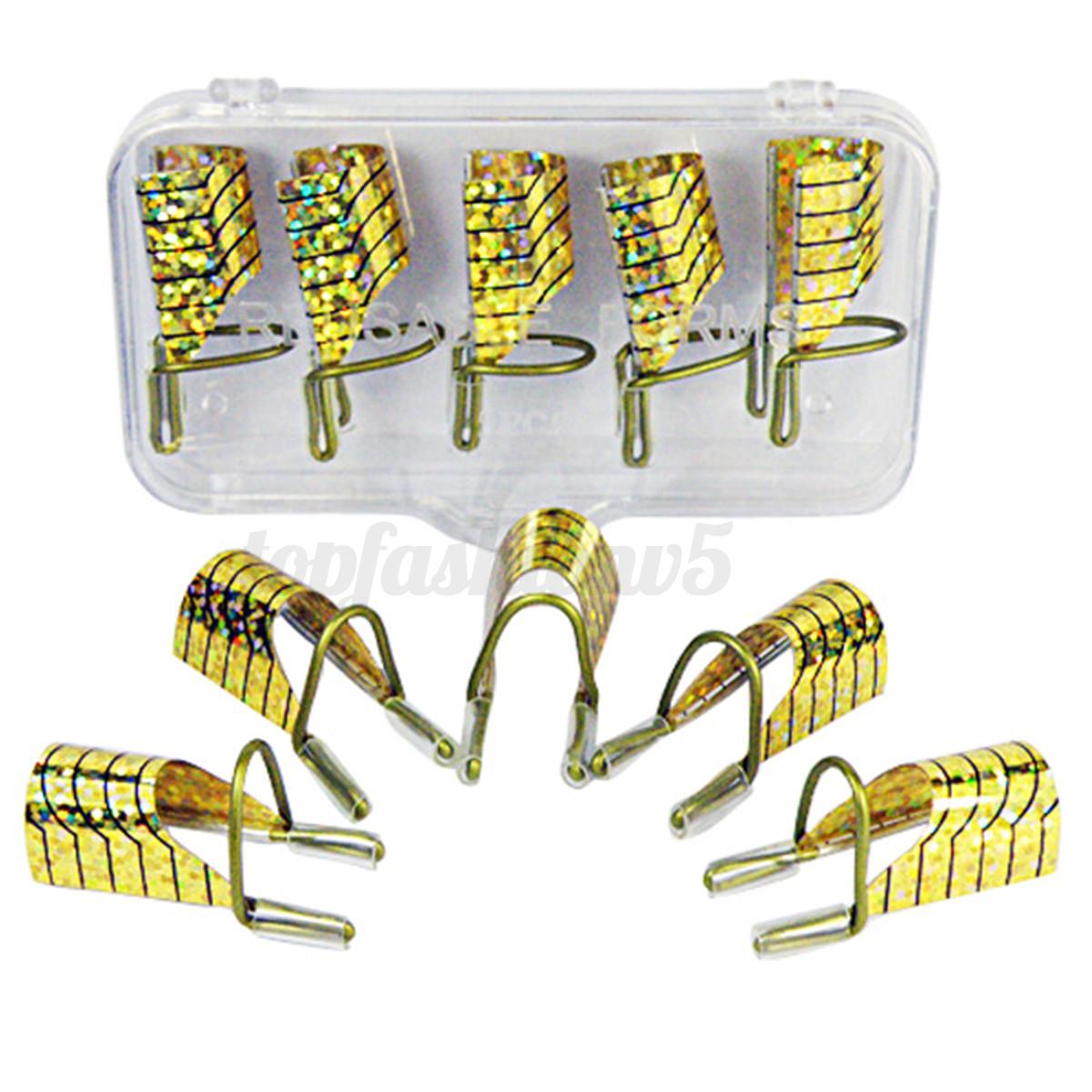 5-10Pz-Nail-Art-Rigide-Cartine-Riutilizzabili-Allungamento-Unghie-Ricostruzione miniatura 6