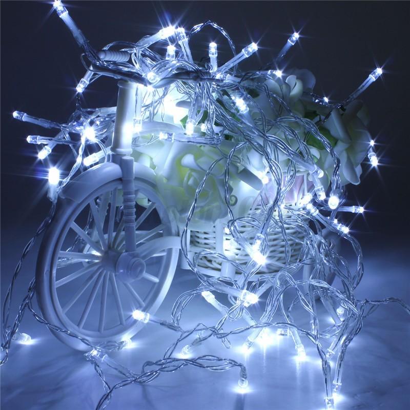 10-50M-100-500-LED-Guirlande-Lumineuse-Lampe-Xmas-Fete-Noel-Soiree-Mariage-Decor