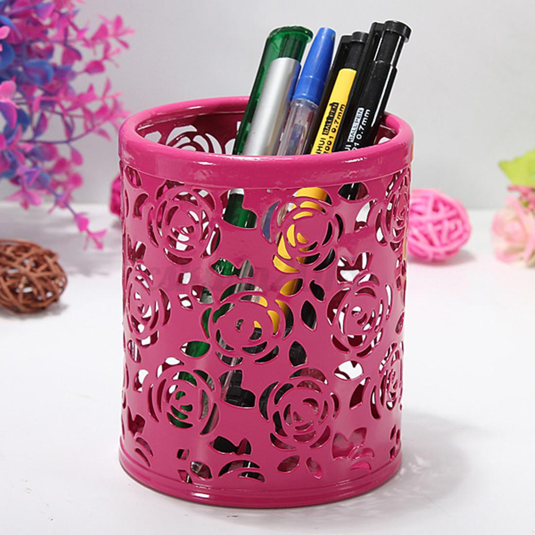 Stylo-Pot-a-crayons-Maquillage-Brosse-Creative-Manique-Bureau-Papeterie-Bureau