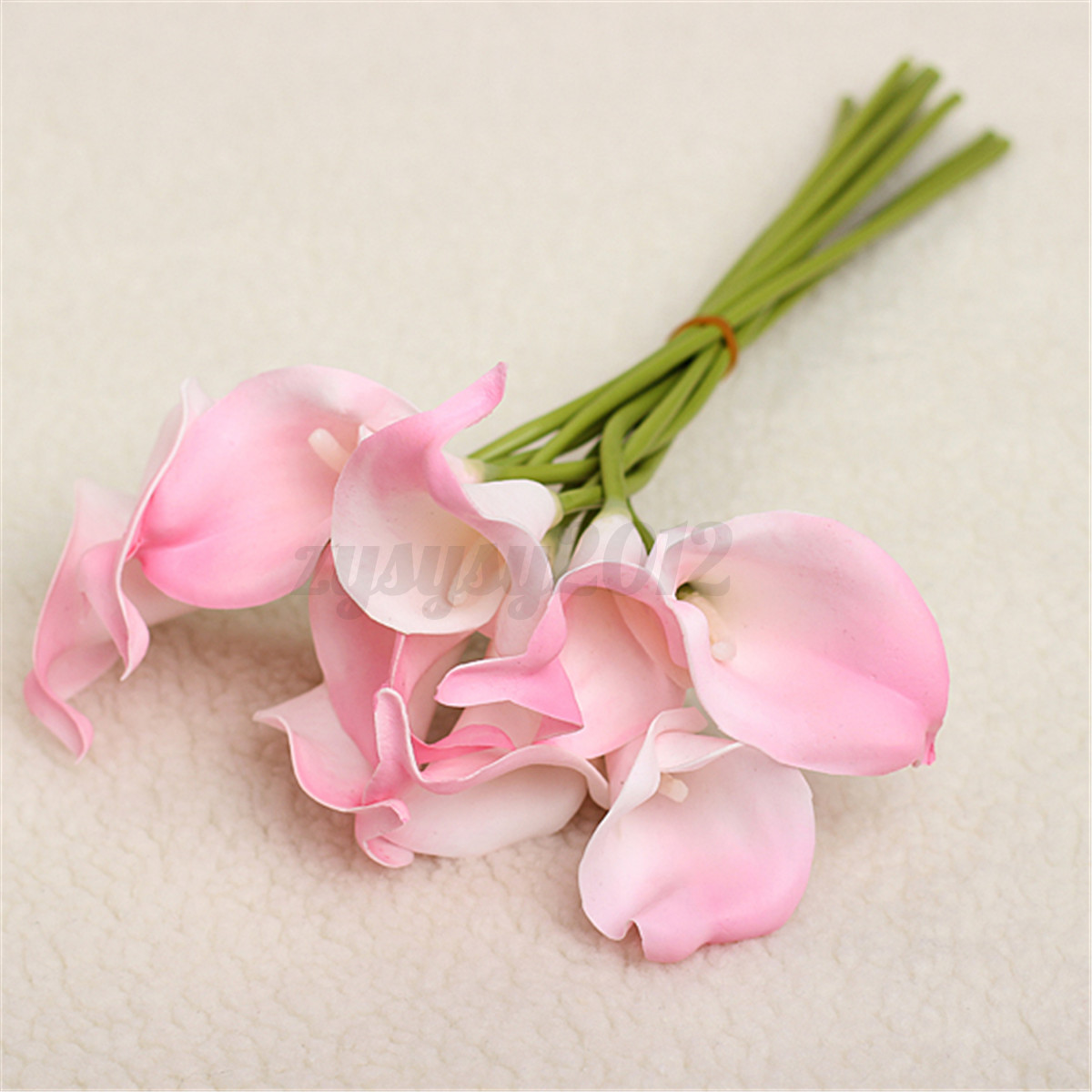 20x sweet artificial latex calla lily flowers bouquet garden our top pick dhlflorist Choice Image
