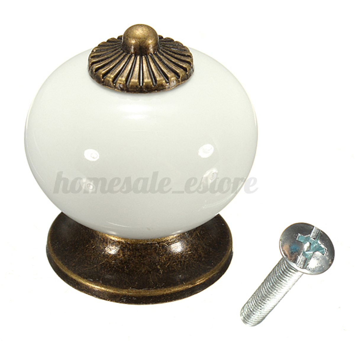Ceramic Handle Pull Knobs Cabinet Door Cupboard Drawer