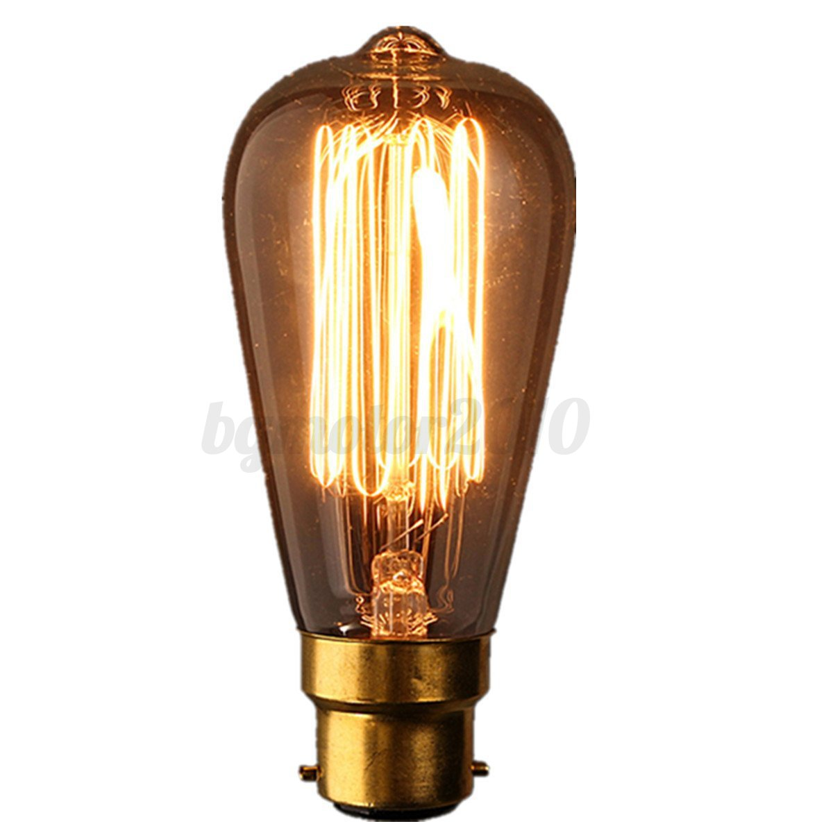 ampoule filament carbone e27 b22 e14 vintage edison style bulb titulaire douille ebay. Black Bedroom Furniture Sets. Home Design Ideas