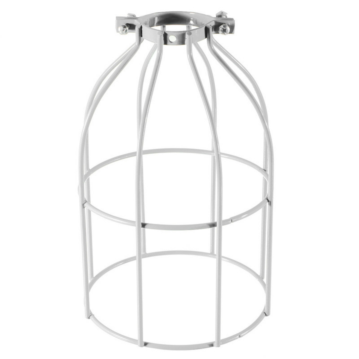 e27 vintage industriel retro m tal cage plafond abat jour ampoule edison lampe ebay. Black Bedroom Furniture Sets. Home Design Ideas