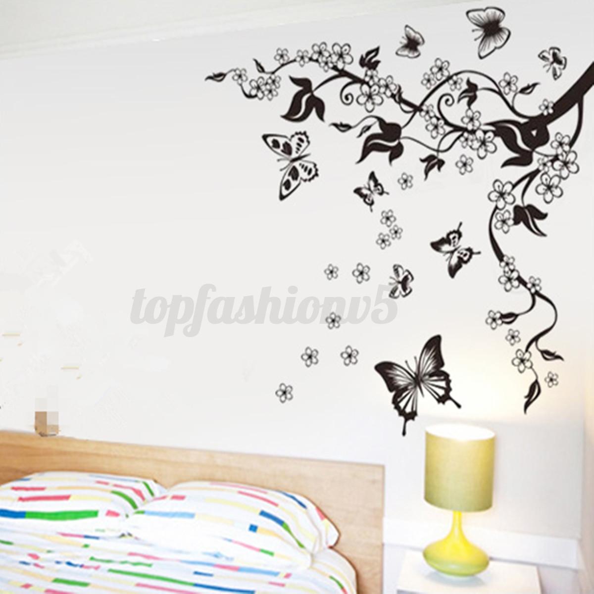 Adesivi murali wall decorazioni stickers adesivi parete removibile multi stile ebay - Decorazioni murali ikea ...