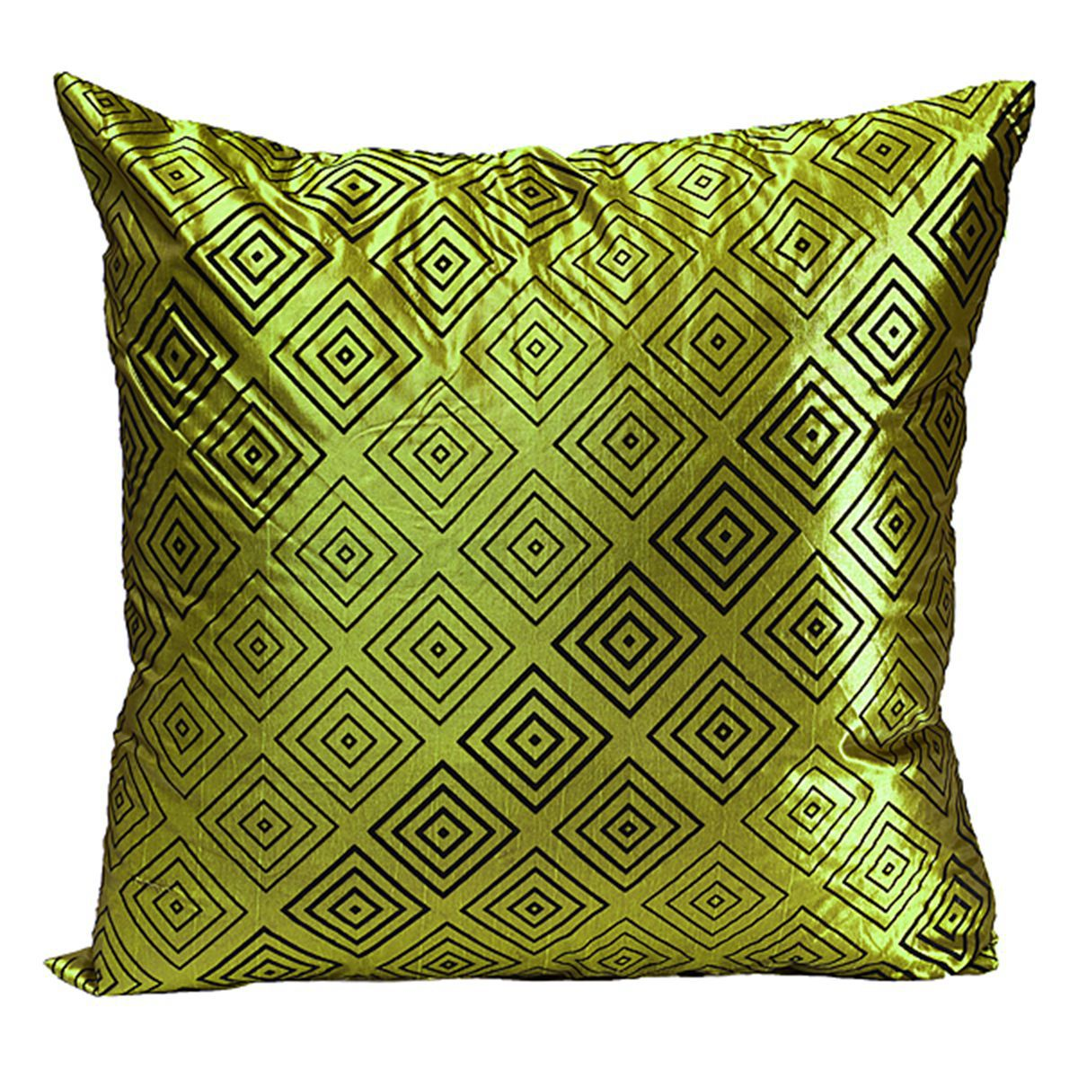 Hot vintage geometric flower pillow case throw cushion for Automobile decorations home