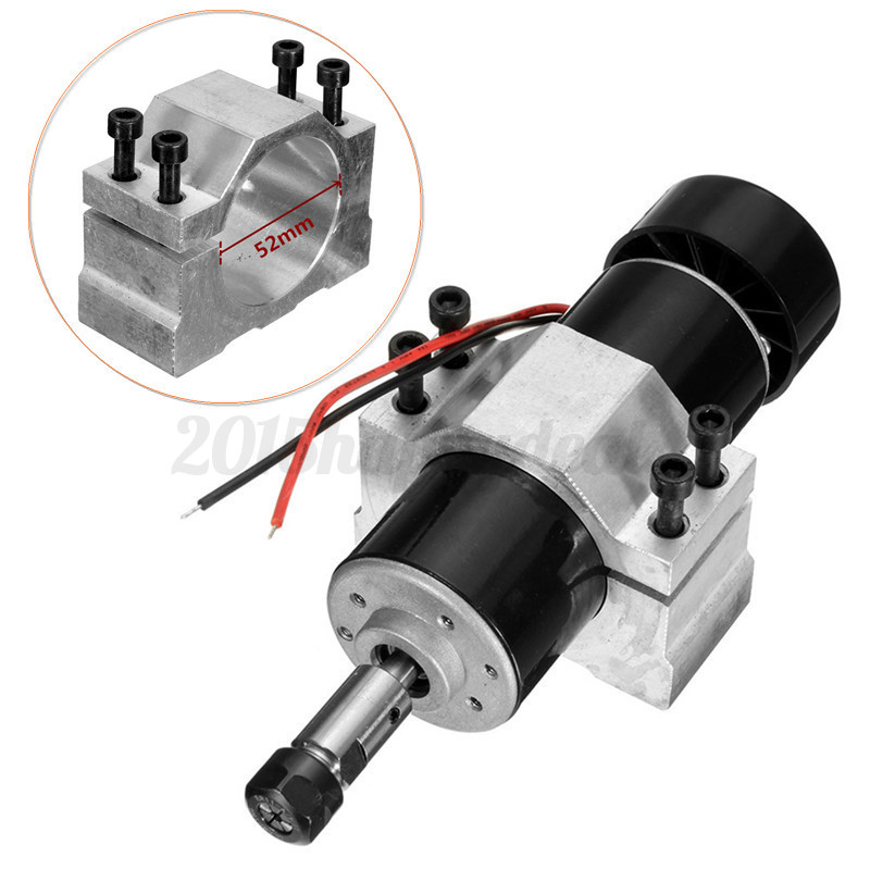 Er11 Chuck Cnc 500w Spindle Motor 52mm Clamps Speed