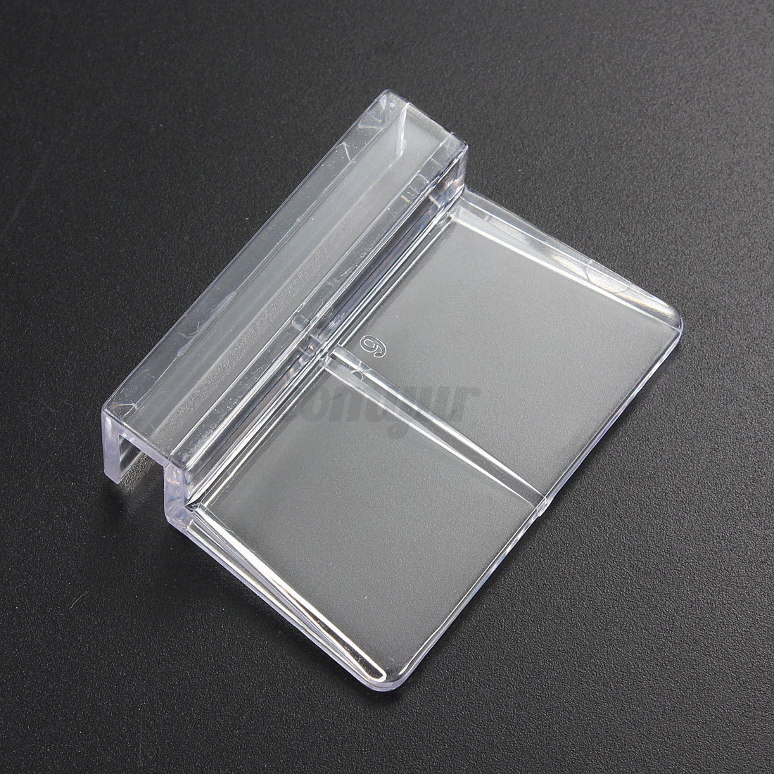 4pcs aquarium tank glass cover plastic clear clip strong for How strong is acrylic glass