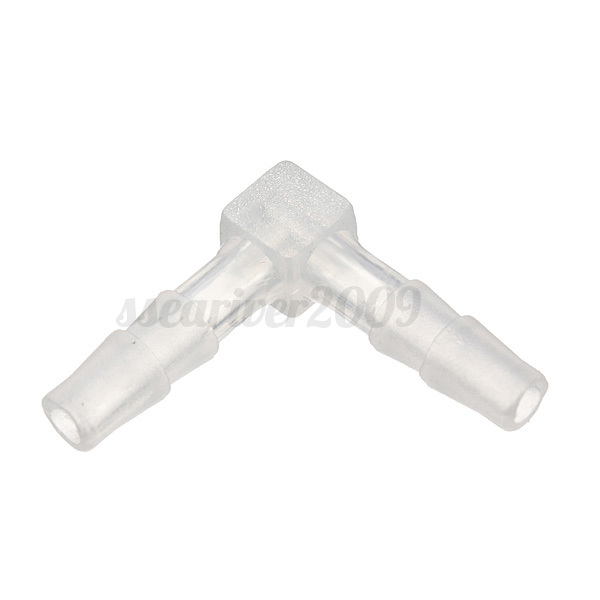 Plastic l elbow connectors fitting garden water hose pipe