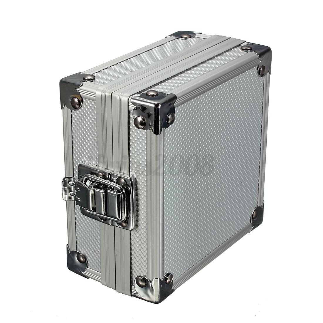 aluminium koffer schaumstoff werkzeugkoffer allzweckkoffer universalkoffer ebay. Black Bedroom Furniture Sets. Home Design Ideas