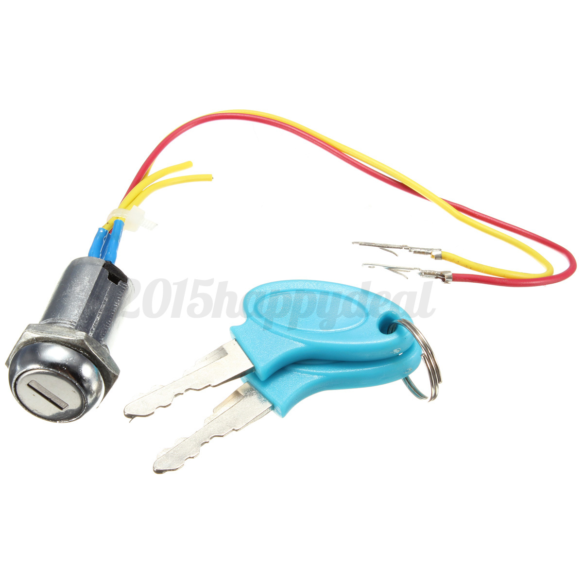 Blue Ignition Switch Lock Electric Mobility Scooter Bike Part ...