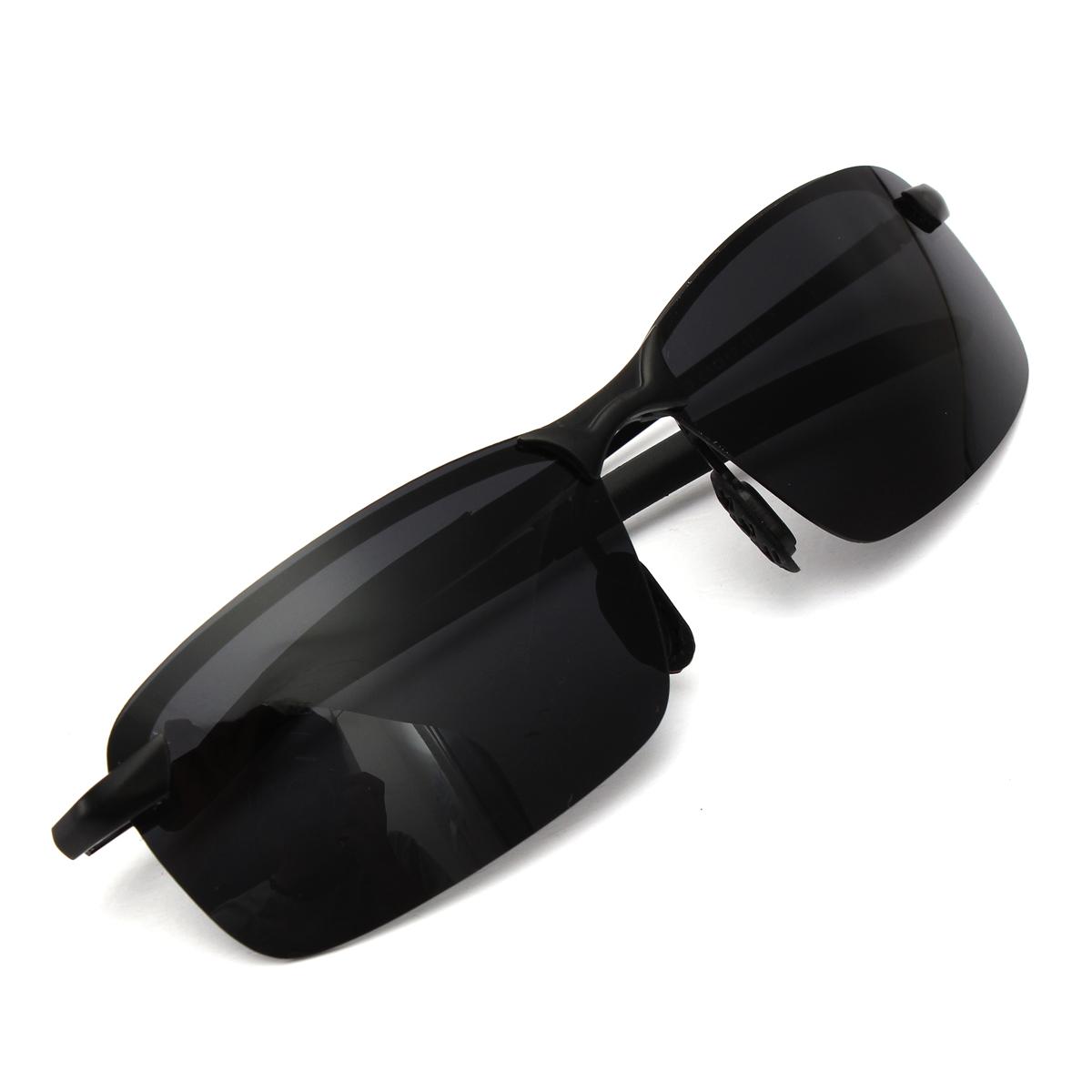 Men Black Polarized Glasses Outdoor Sports Eyewear Driving UV Sunglasses | eBay
