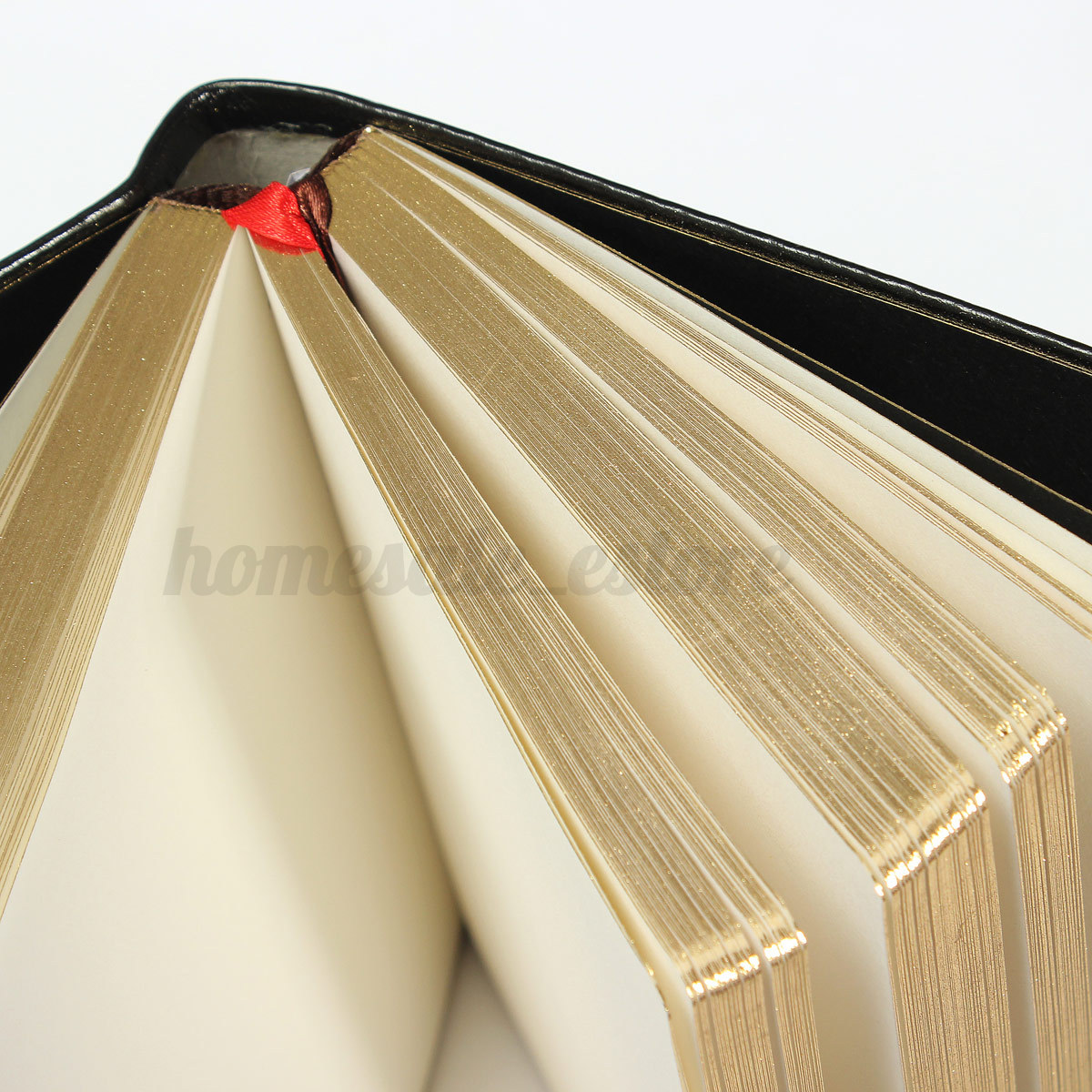 Classic Book Cover Diary : Blank leather notebook vintage classic journal diary book