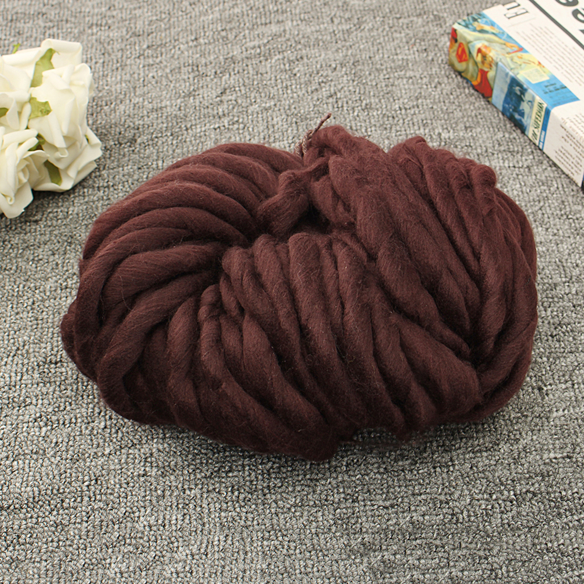 Warm-Handmade-Chunky-Knitted-Blanket-Thick-Yarn-Merino-Knit-Throw-Bed-Sofa-DIY