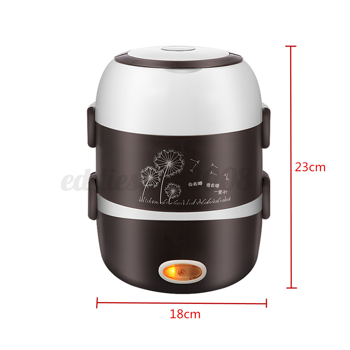Portable Electric Cooker ~ Electric layers l portable lunch box cooker picnic