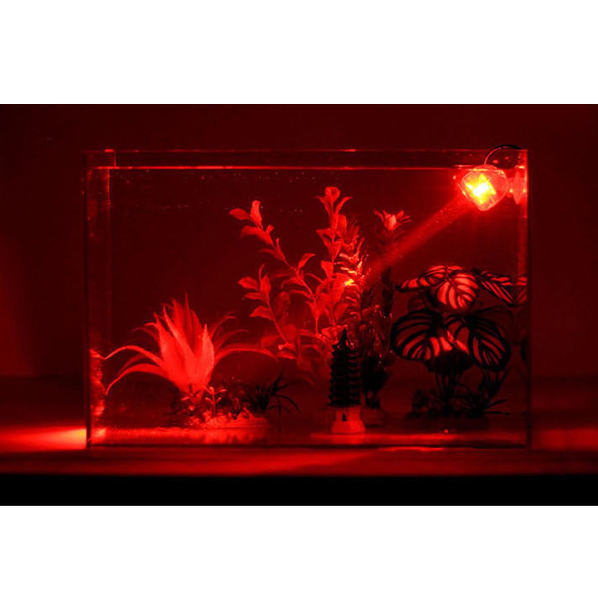 LED Waterproof Aquarium Spotlight Submersible Bulb Light Lamp Fish ...