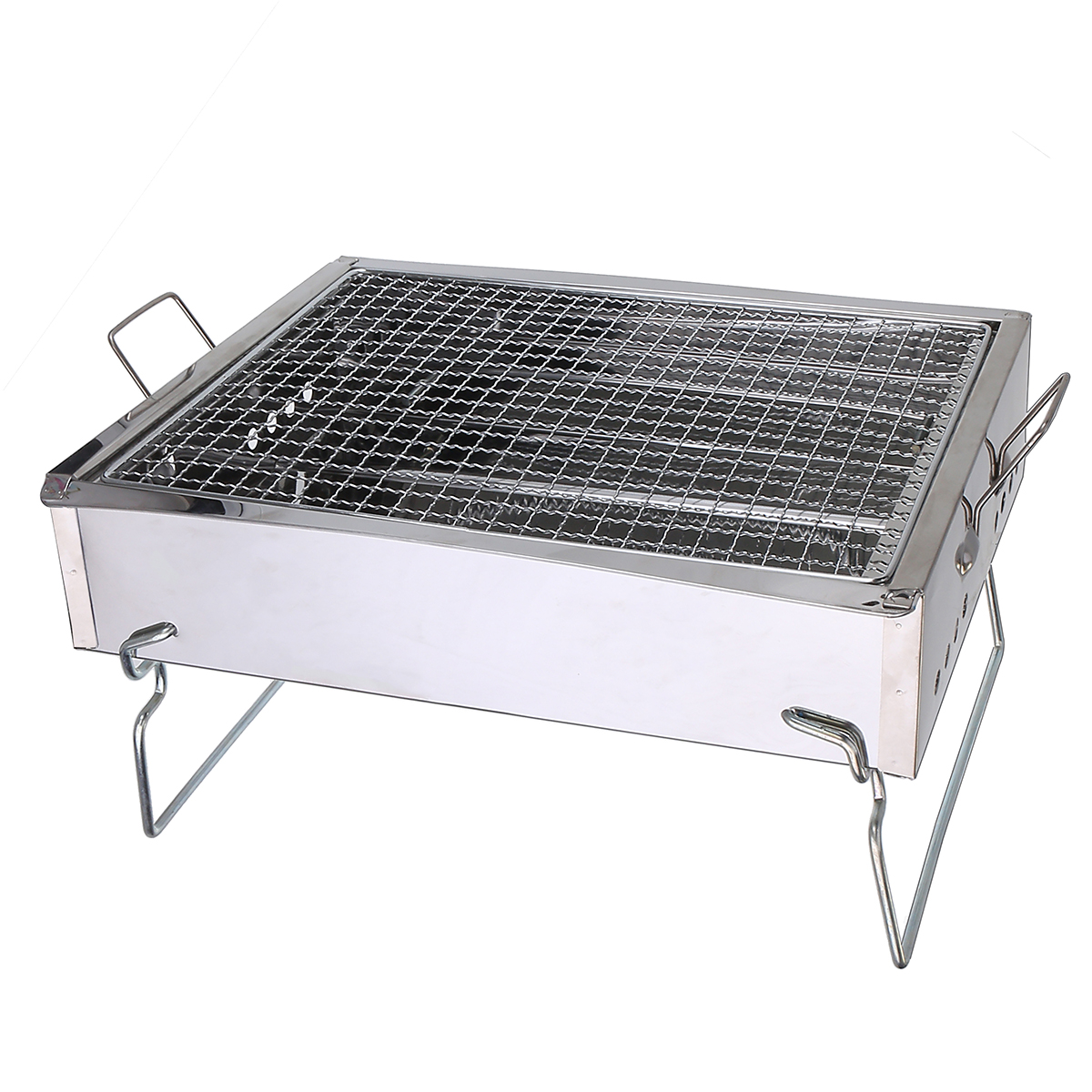 BBQ-Barbecue-Grill-Folding-Portable-Charcoal-Outdoor-Camping-Burner-Patio-Stove