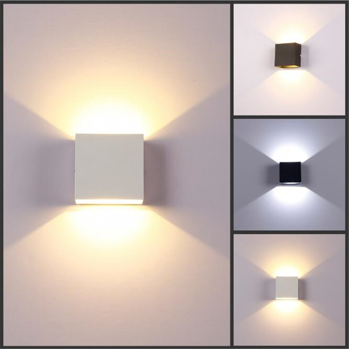home wall lighting. Image Is Loading Modern-6W-LED-Wall-Light-Up-Down-Lamp- Home Wall Lighting