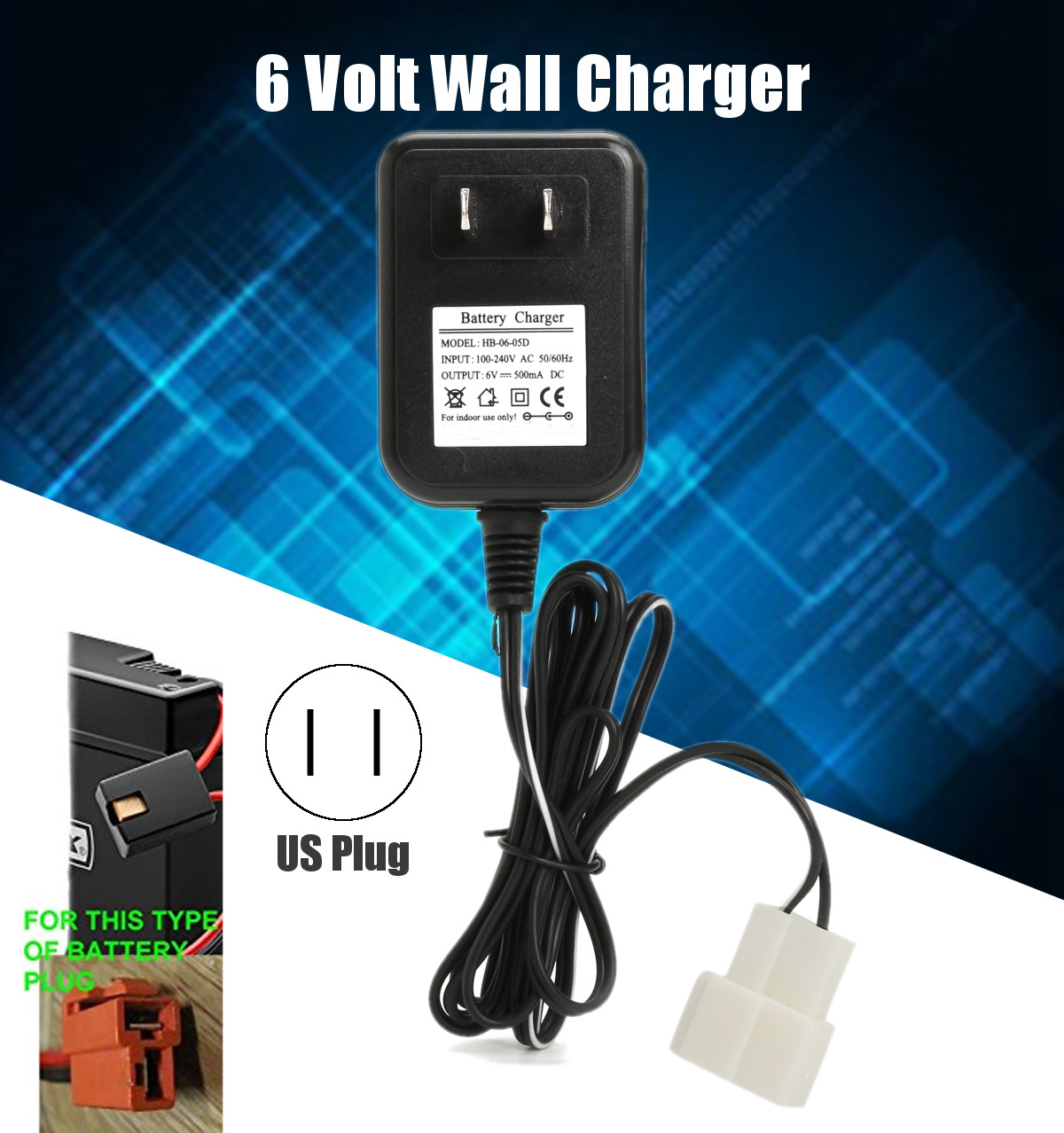mini cooper toy car battery charger