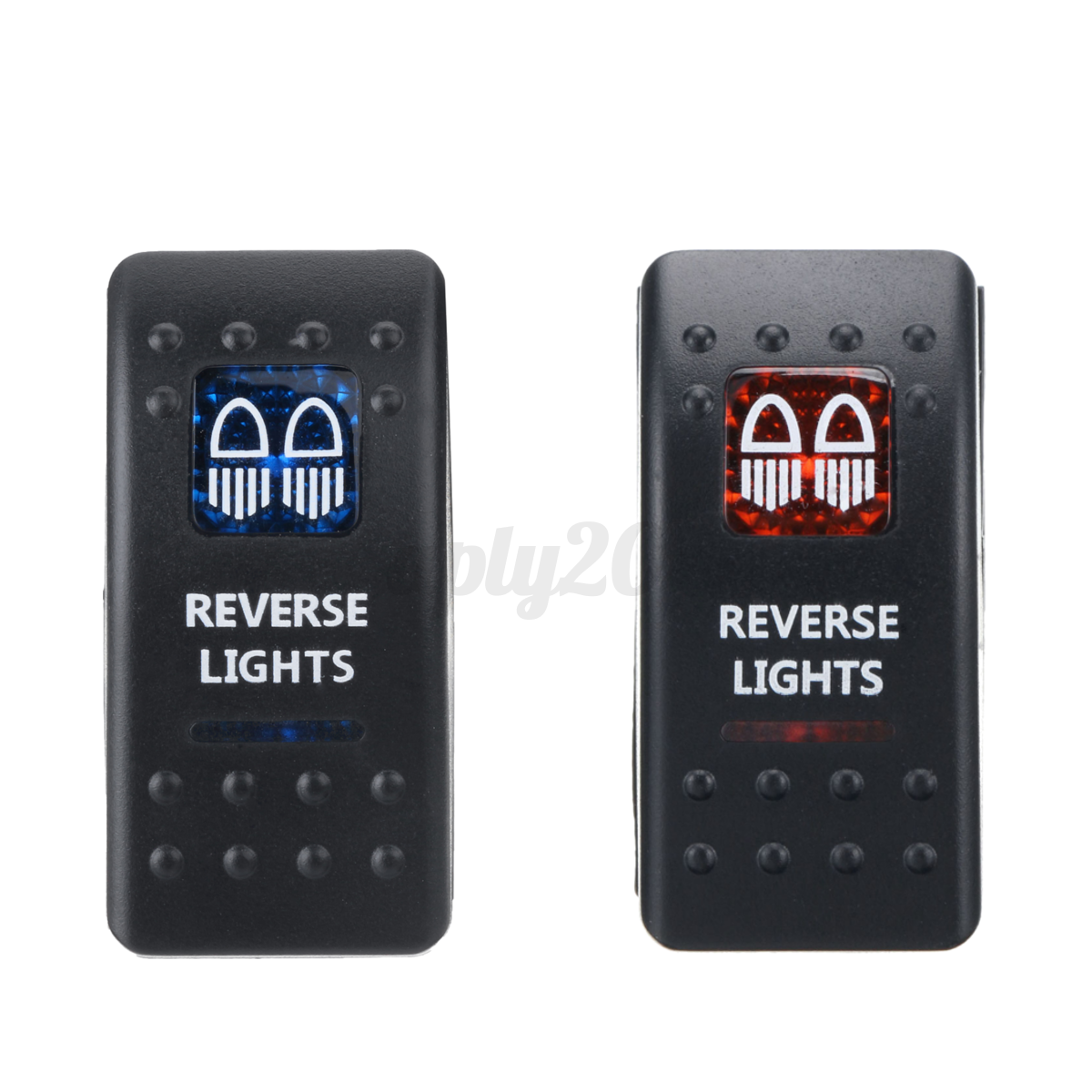 Coche-Interruptor-Basculante-LED-12V-24V-SPST-ON-OFF-Switch-Impermeable-Barco miniatura 24