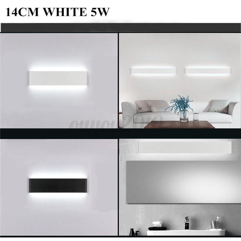 14CM-36CM-LED-Lampe-Applique-Lumiere-Blanc-Mur-Pour-Salle-de-Bain-Miroir-Chambre