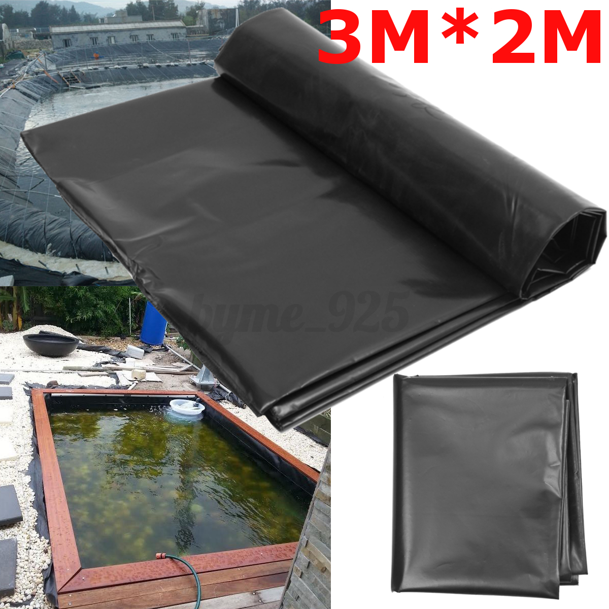 HDPE Heavy Duty Pond Liner Lining Garden Ponds 25 Years