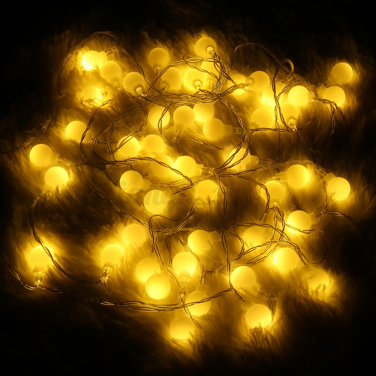 10 320 led guirlande lumineuse jardin f e lampe etanche mariage f te no l d cor ebay. Black Bedroom Furniture Sets. Home Design Ideas
