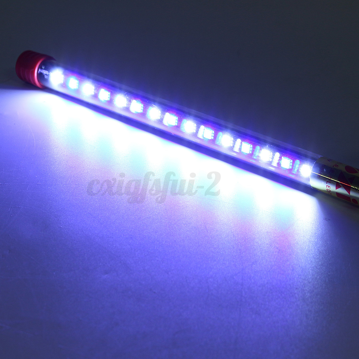 Submersible aquarium fish tank led bar blue white for Fish tank led light bar