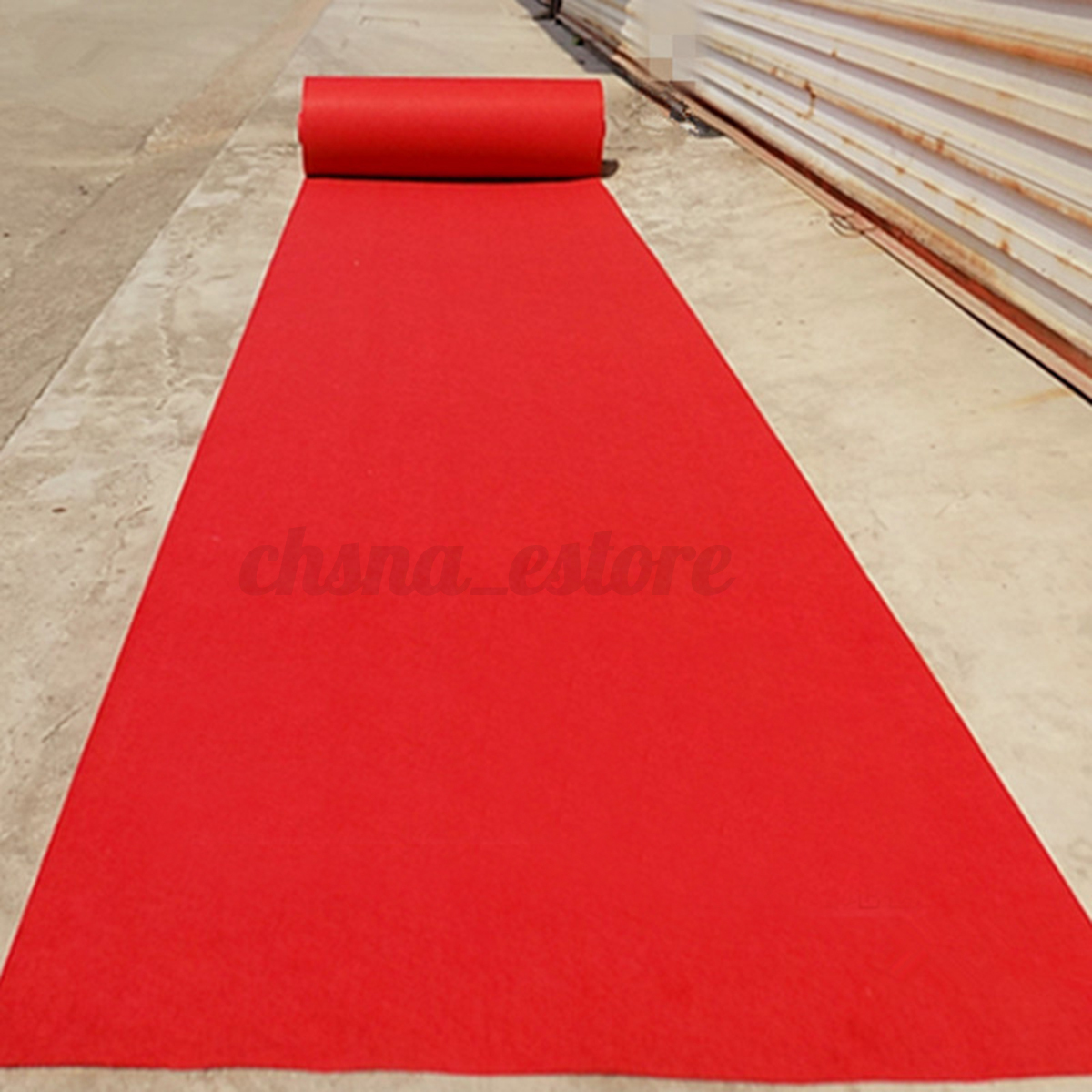 Red Carpet Aisle Runner 32x2 6ft Indoor Outdoor Carpet For Parties