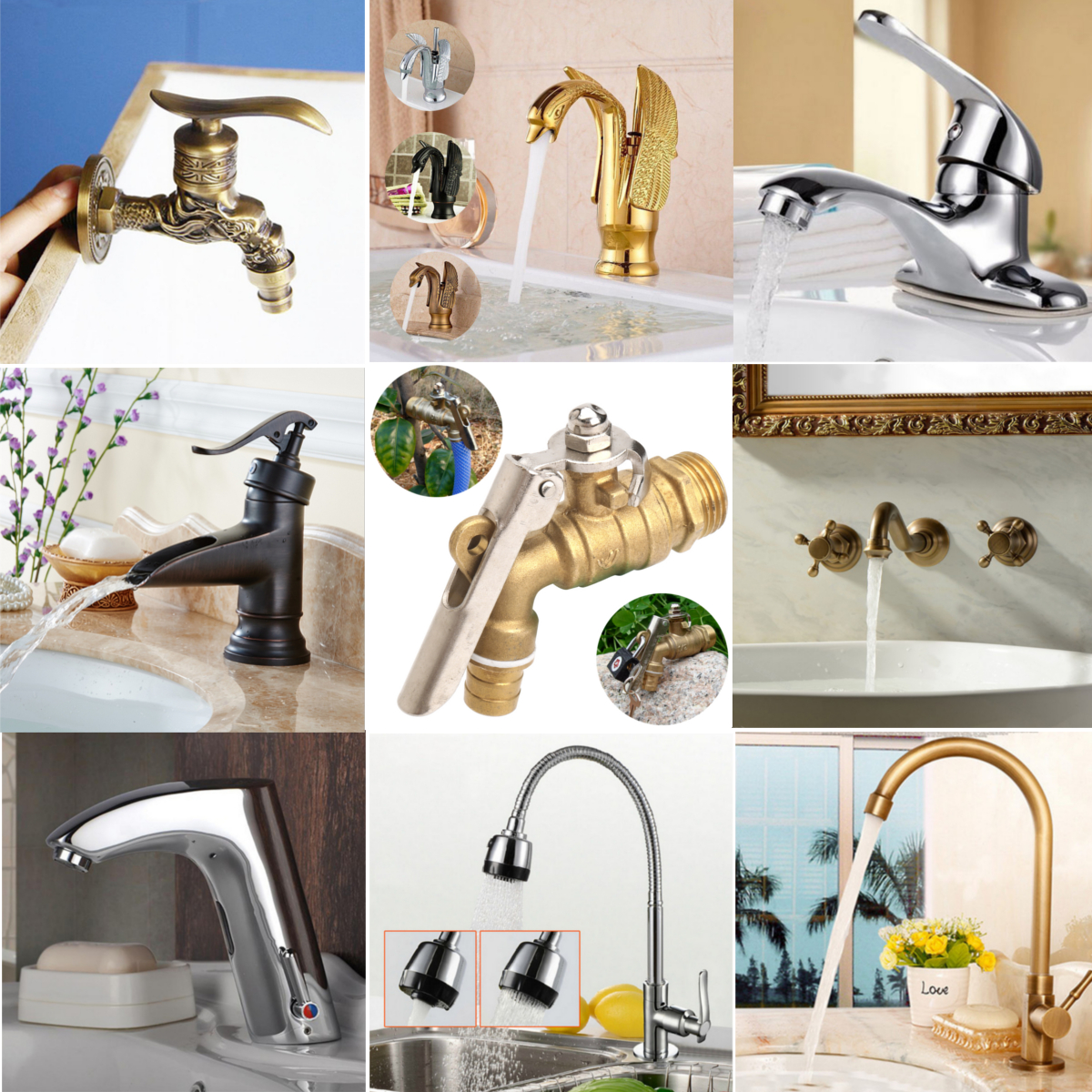 Modern Kitchen Bathroom Sink Pull Out Spray Mixer Tap Brushed Steel