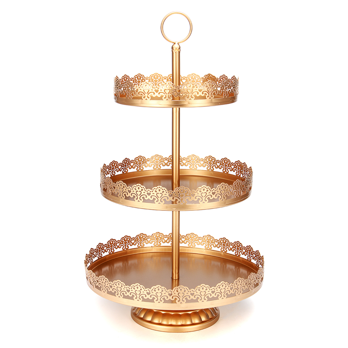 3-Tier Cupcake Stand Metal Cake Dessert Wedding Event Party Display ...