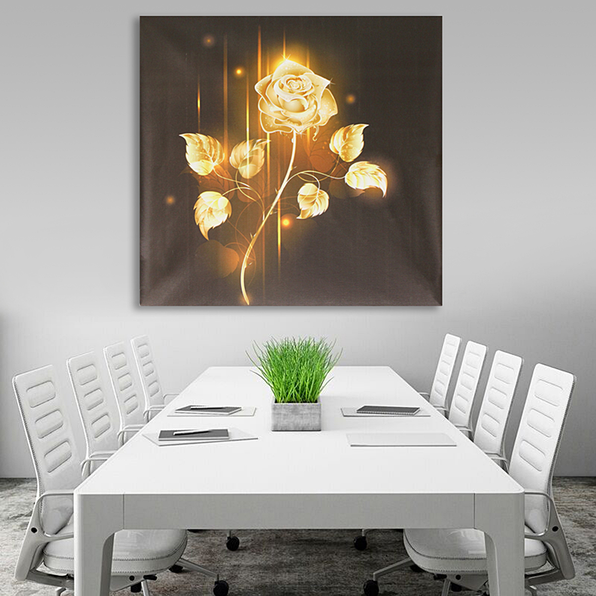 Unframed-Flowers-Modern-Art-Canvas-Oil-Painting-Picture-Print-Home-Wall-Decor