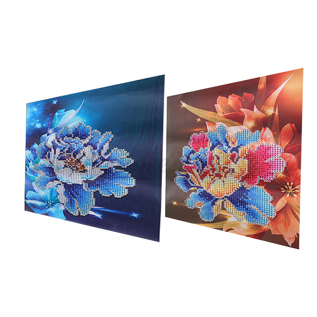 Diy 5d diamond painting embroidery flower cross crafts for Decoration kit