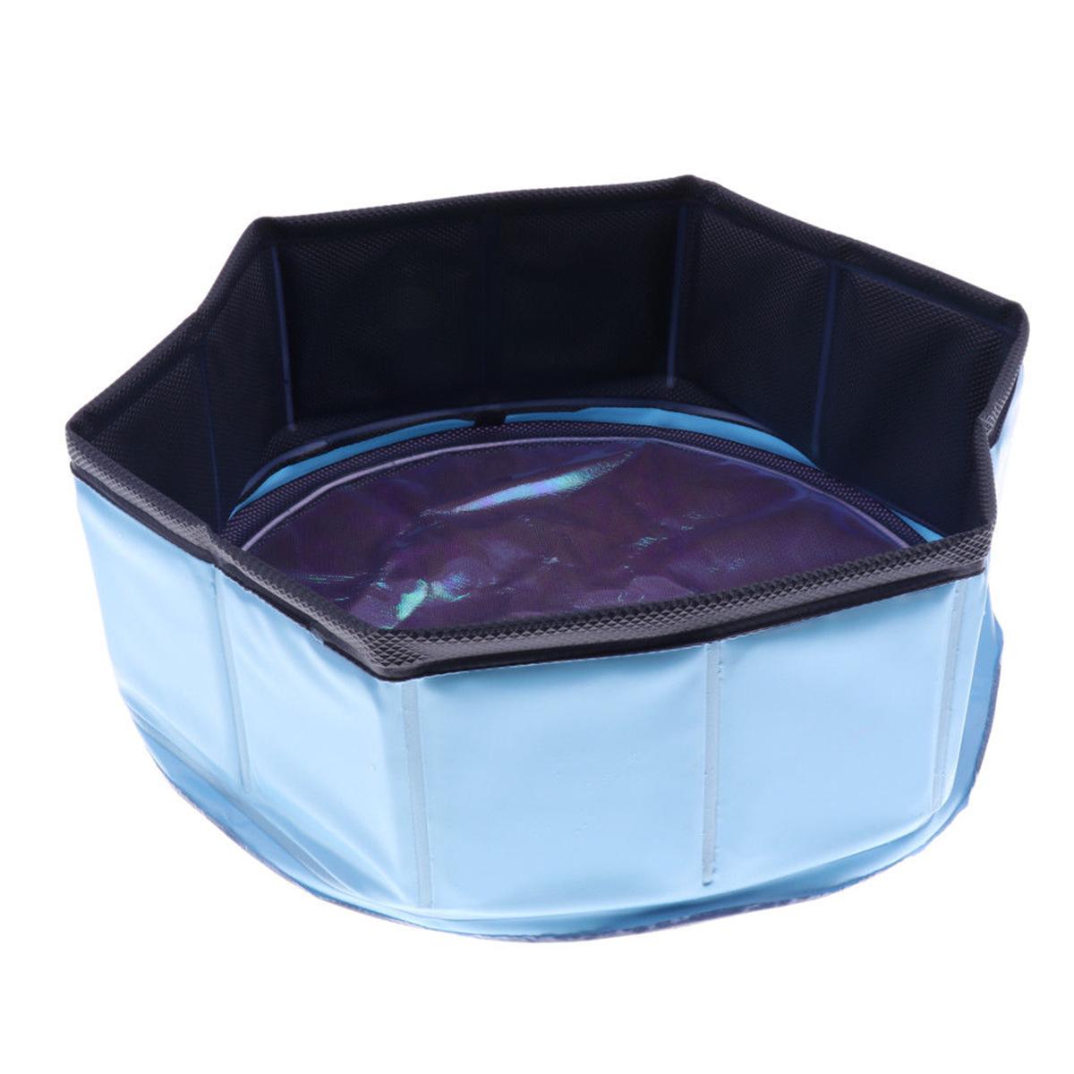 Pet Bath Dog Pool Cat Puppy Kids Outdoor Bathtub Washer Tub Portable ...