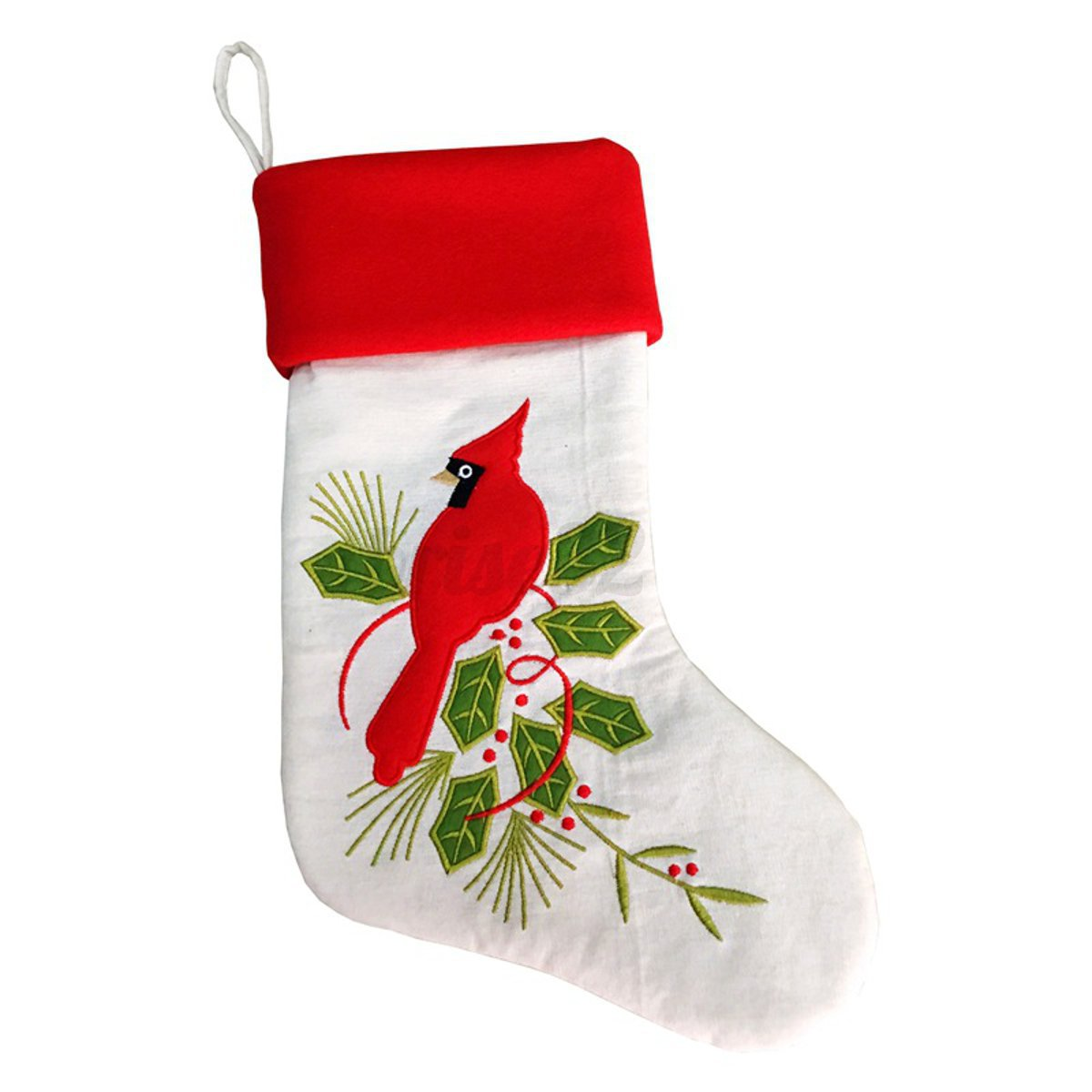 Personalised-Christmas-Santa-Claus-Candy-Sack-Gifts-Present-Xmas-Socks-Stocking miniatura 11