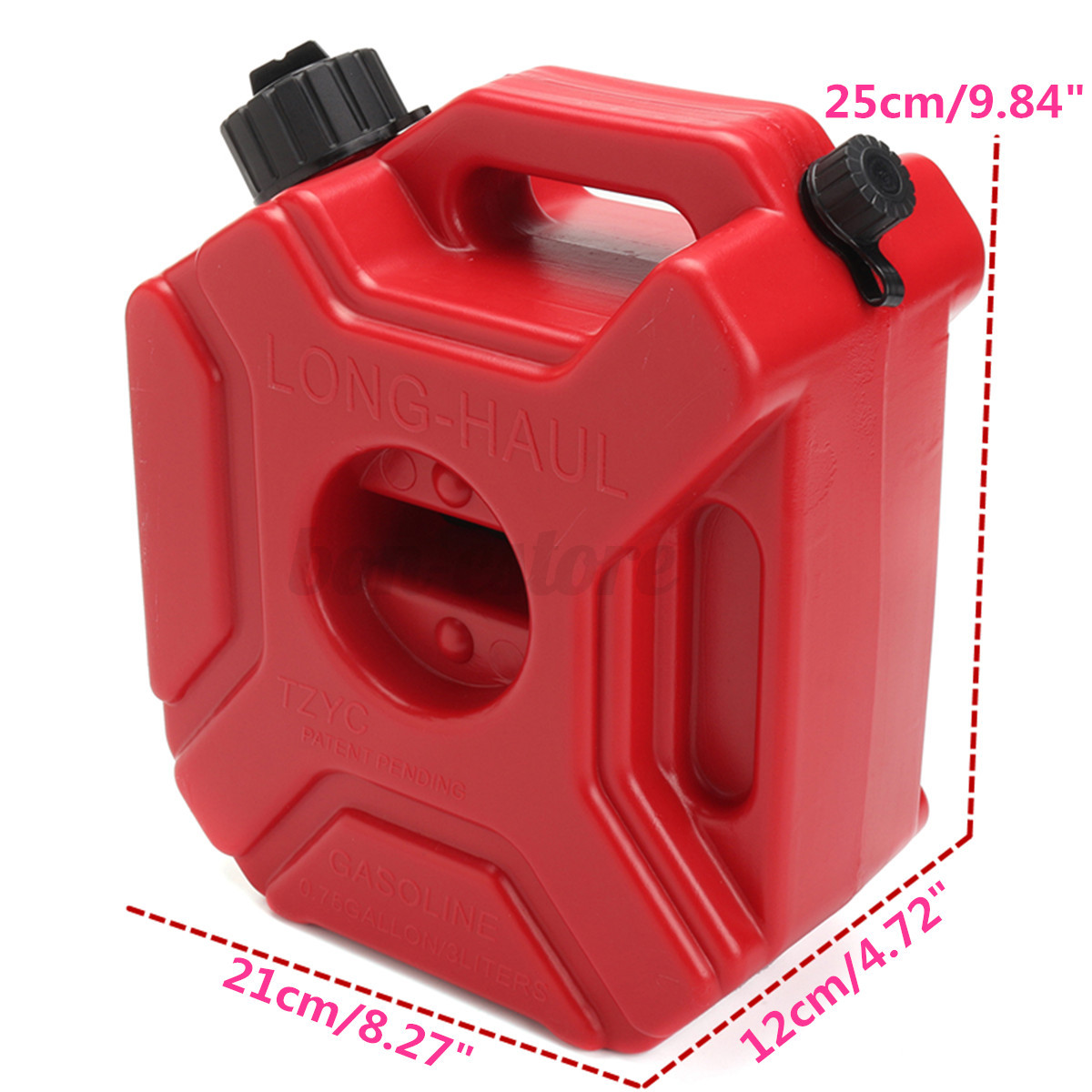 3l portable jerry can gas plastic fuel tank petrol - Porta poster plexiglass ...