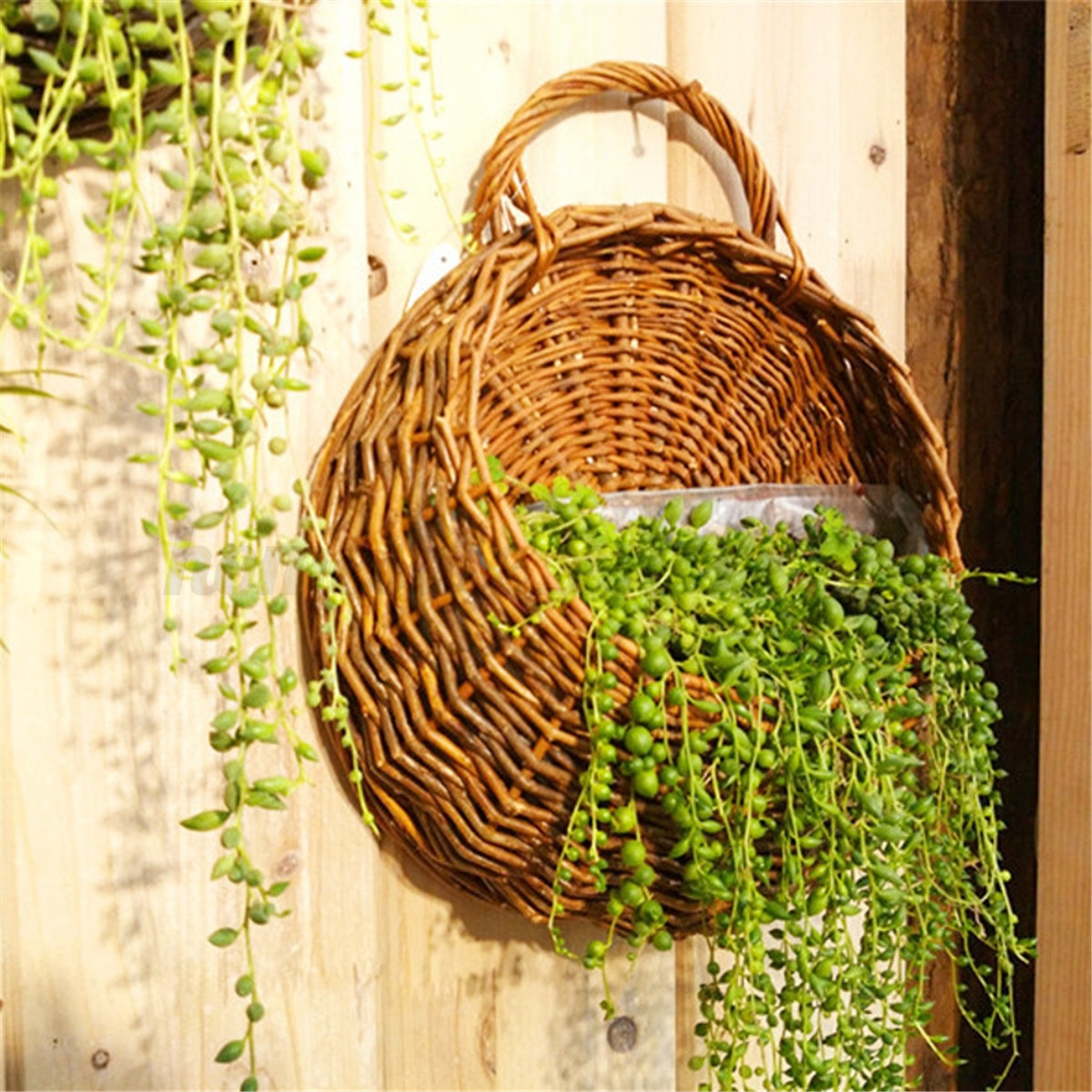 Outdoor Wall Hanging Decoration : Flower planter wall hanging basket garden outdoor indoor
