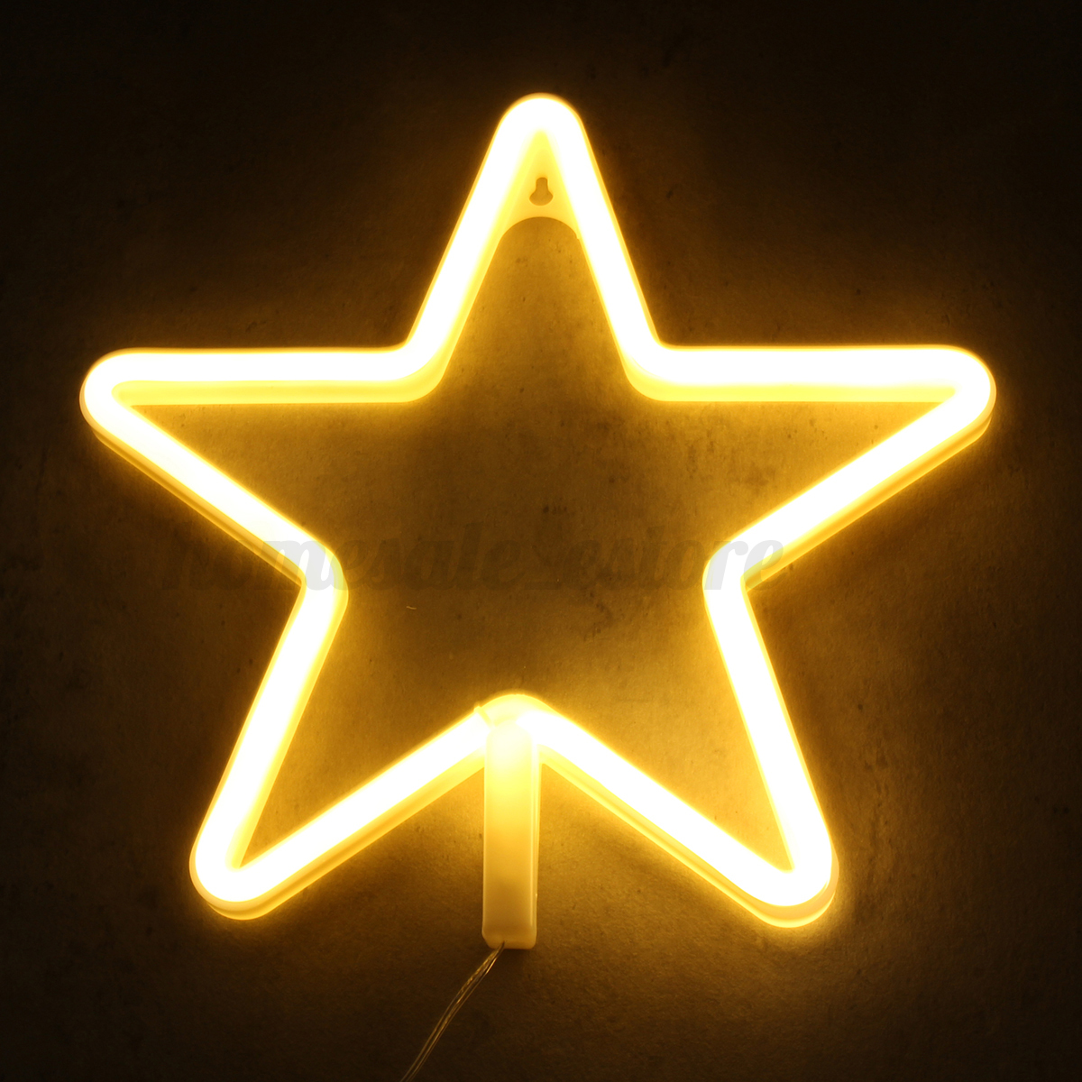 LED Art Sign Star Cloud Heart Neon Home Party Wall Decor Night Light ...